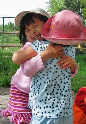joyful toddlers